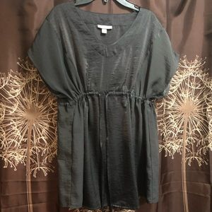 LIZ LANGE MATERNITY Beautiful Gray Blouse Top